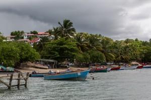 Le port de pêche de Tartane où les nuages nous rattrapent