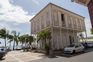 L'hôtel de ville de Saint-Pierre reconstruit tel qu'il était avant 1902