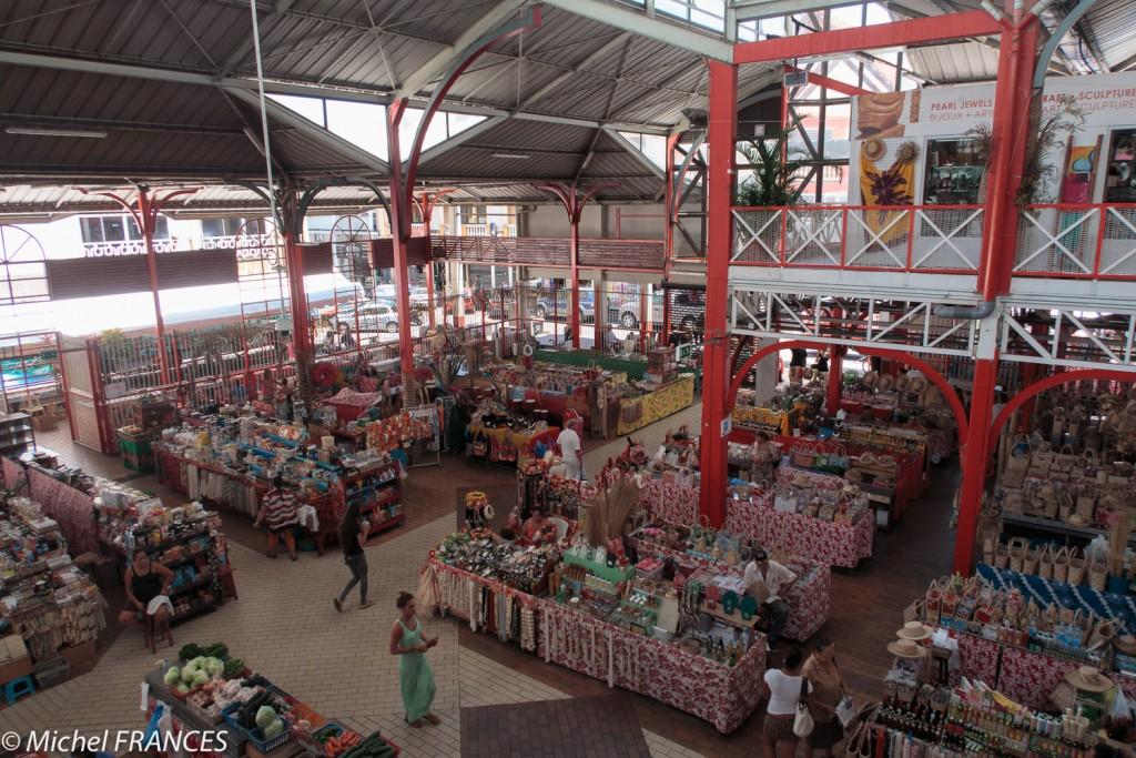 Beaucoup de stands pour acheter les produits locaux