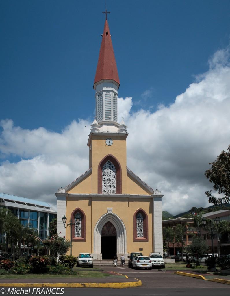 La cathédrale de Papeete